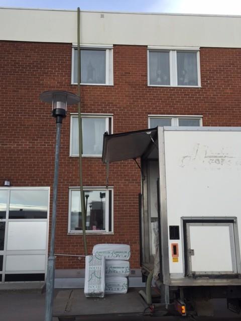 Isolering BRF Sundsvall