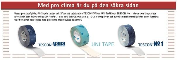 Pro Clima Tejpband
